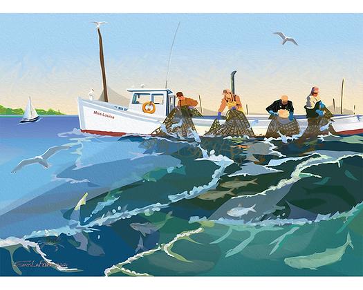 Pound Net Fishing