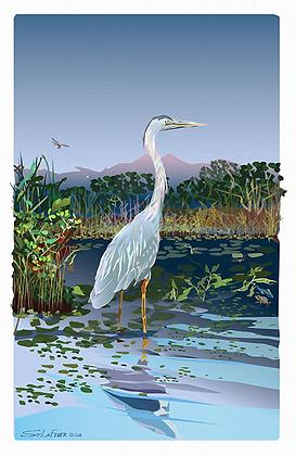 Egret Heron 1