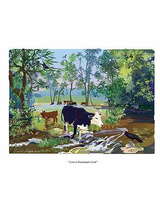 Cows at Dutchman's Creek