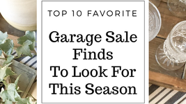 Our Top 10 Garage Sale Steals to Look for This Season