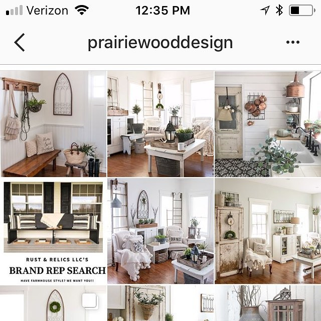 Congratulations to Prairie Wood Designs!! Our Brand Rep Search Winner!!