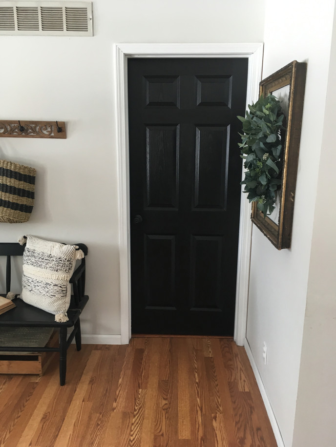My New Obsession- Black Interior Doors