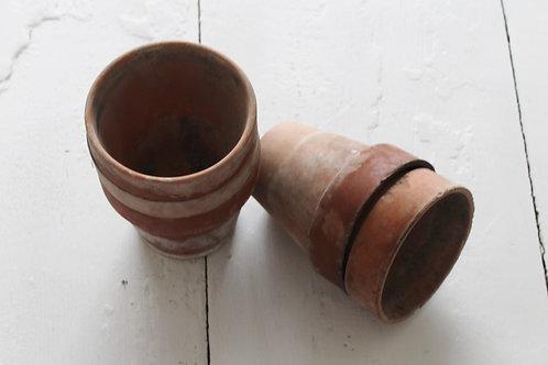 Aged Vintage Pots