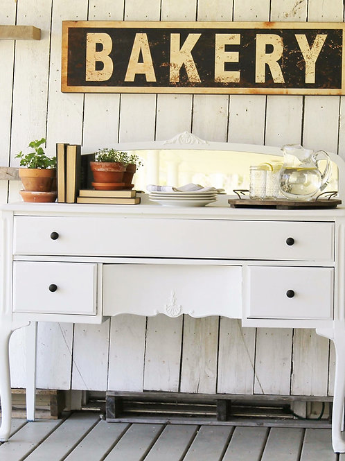 """Wooden """"Bakery"""" Sign"""