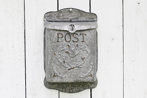 "Metal ""Post"" Box"