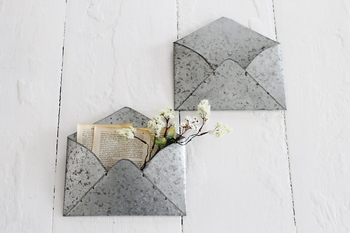 Galvanized Metal Wall Envelopes