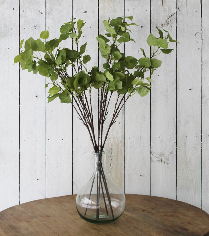 Re-Fresh: Adding Faux Greenery to Refresh any space for Spring.