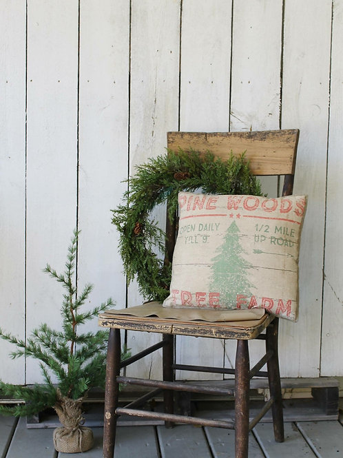 Fresh Cut Christmas Trees Double Sided Pillow