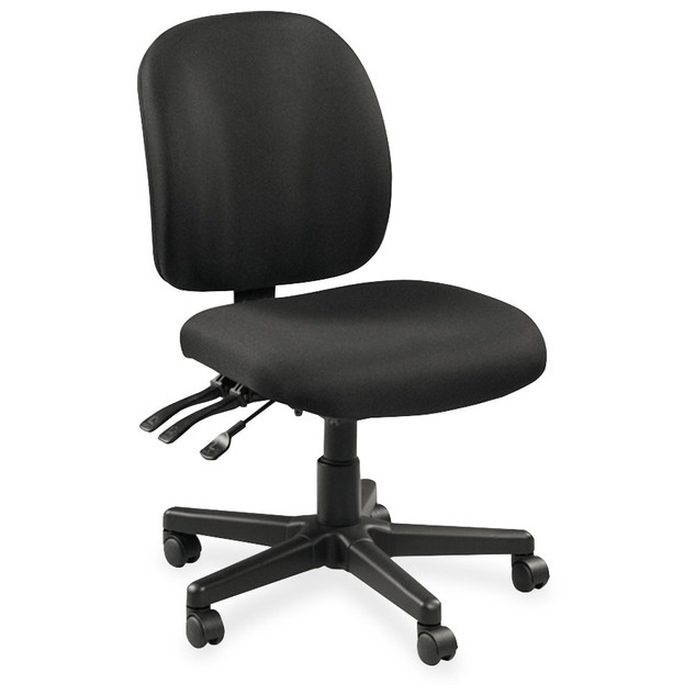 Lorell Mid-back Task Chair without Arms