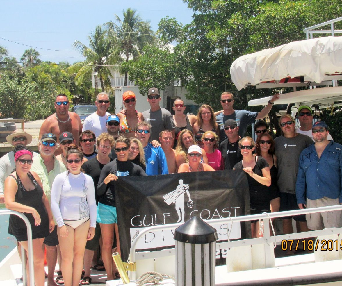 Key Largo group dive trips