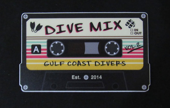 "Dive Mix Stickers - 2"" or 4"""