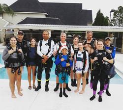SSI scuba lessons, Tampa, FL