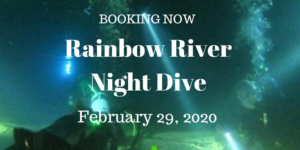 Rainbow River Night Dive  February 29, 2020