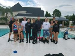 group scuba classes, Tampa, FL