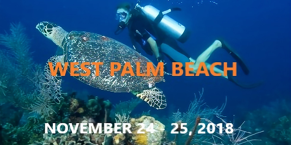 West Palm Beach Dive Weekend - November 24 - 25, 2018