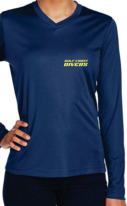 Rash Guard - Women's Dark Navy Front View