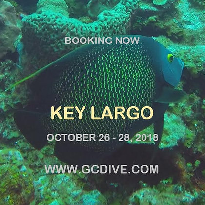 Key Largo Reef Dive Weekend - Oct 26 - 28, 2018