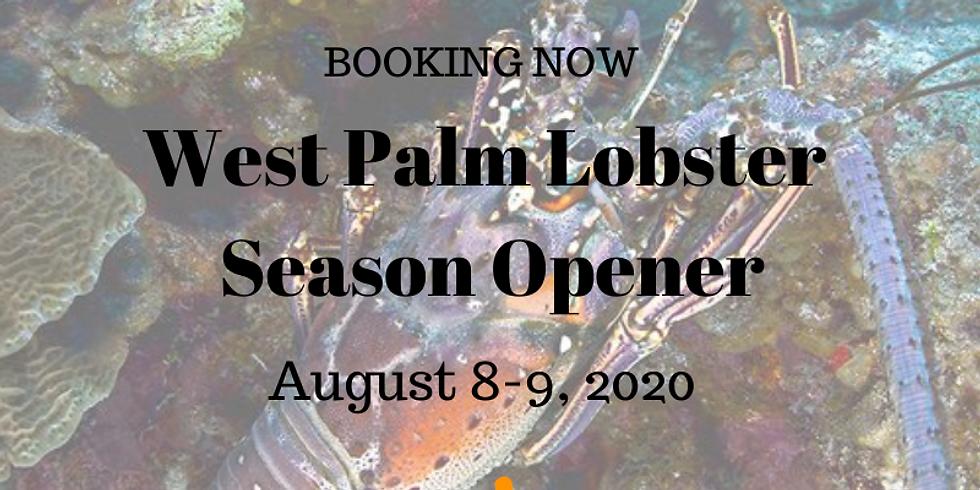 West Palm Beach Lobster        Season Opener August 8-9, 2020