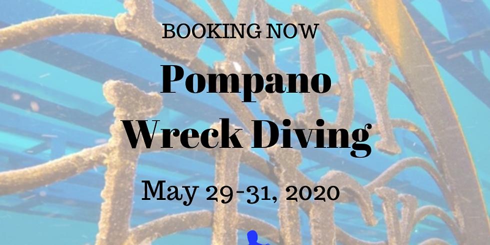 Pompano Beach Wrecks                                           May 29-31, 2020