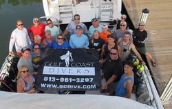 group dive trip to key largo