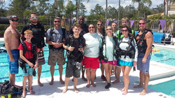GROUP SCUBA LESSONS, TAMPA, FL