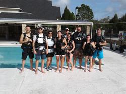 scuba lessons, tampa bay, SSI