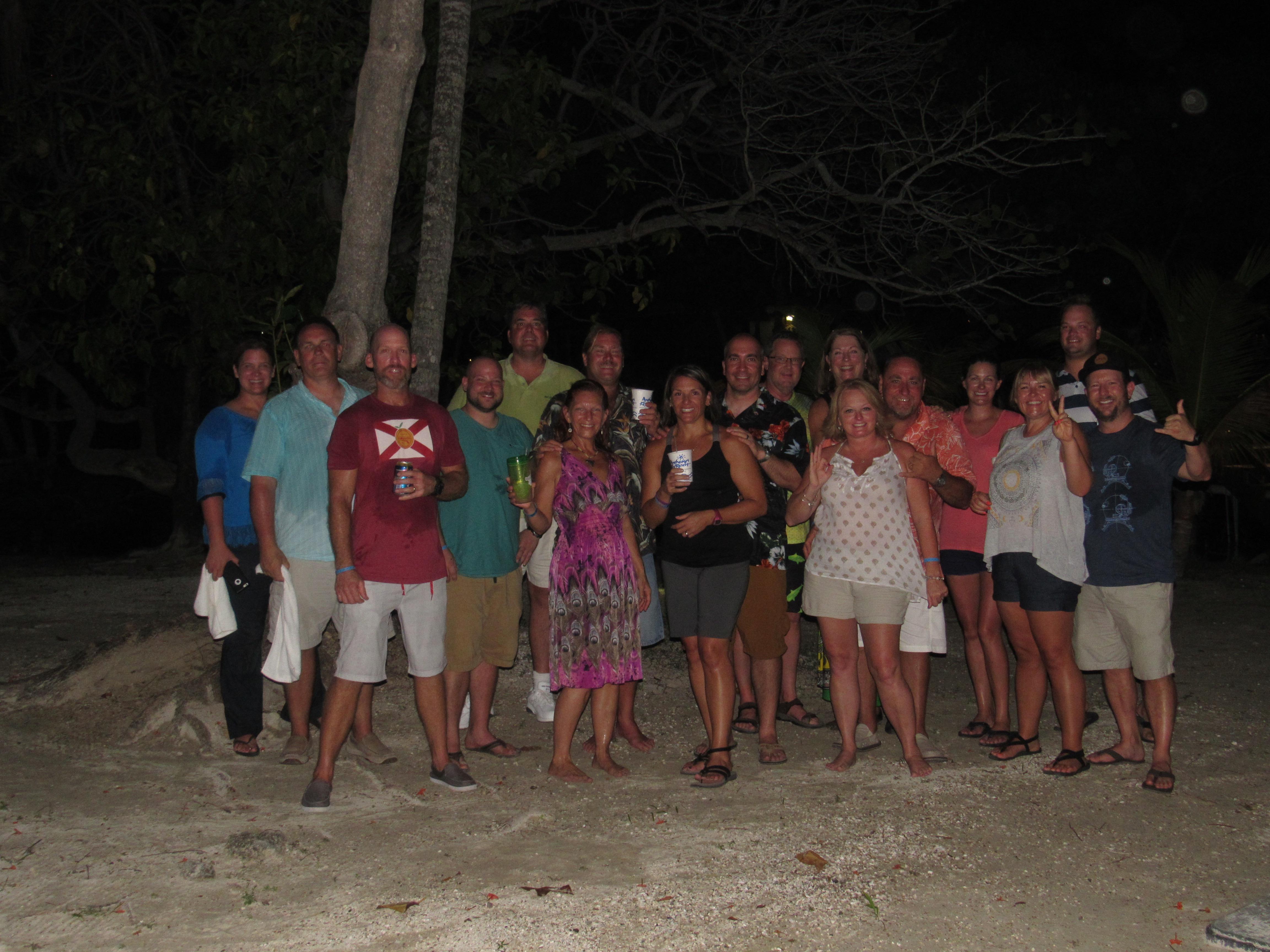 Roatan Island party
