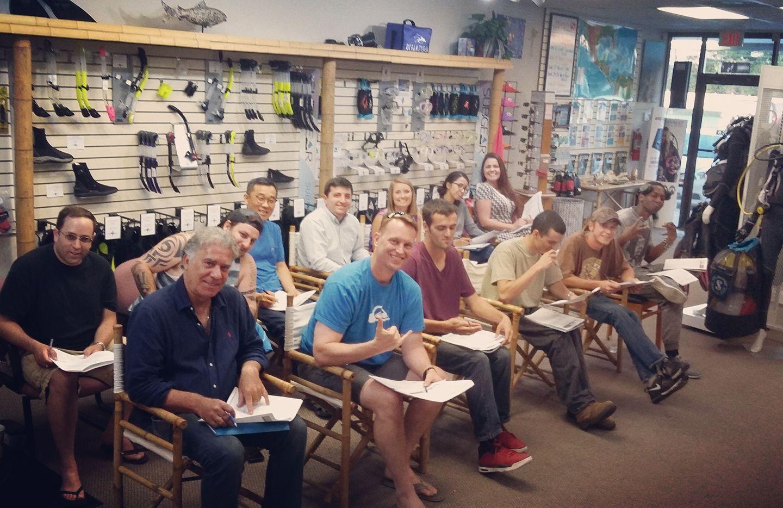 SSI scuba lessons, Gulf Coast Divers