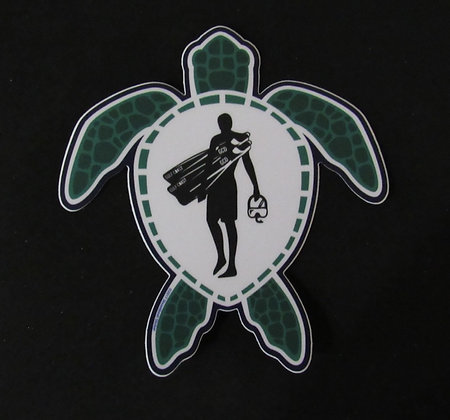 Turtle Sticker - 4 ""
