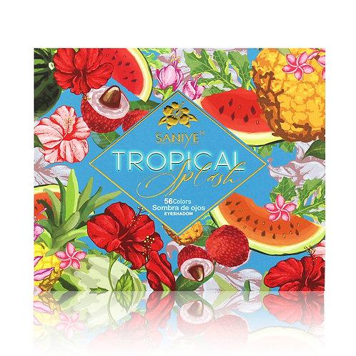 Paleta de sombras T118 Tropical Splash (6 Pzas.)