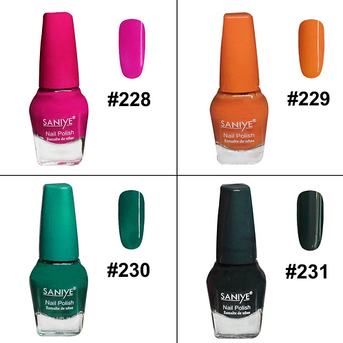 Esmalte para uñas N8011 #34 (24 Pzas.)