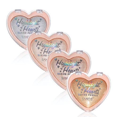 Iluminador Hearts E0159 (24 piezas)