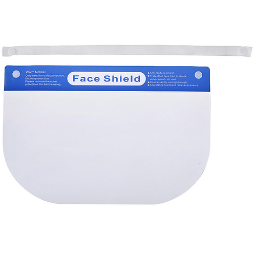 Careta protectora FACE SHIELD (10PIEZAS)