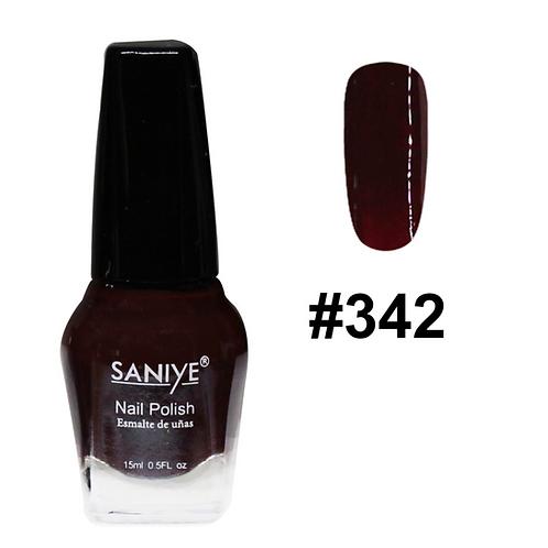 Esmalte Para Uñas N8108 #20 (24 Pzas.) tonos rojos y vino