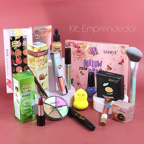 Kit para negocio con  más de 100 cosméticos individuales saniye (ENVIO GRATIS)