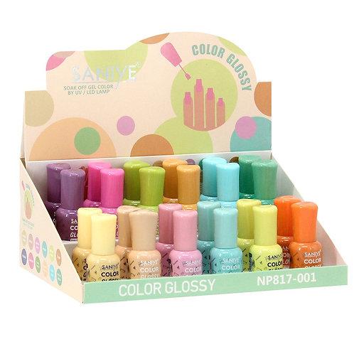 Esmalte para uñas Np817-001 Ultra glossy (24 piezas)