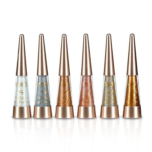 Delineador con glitter Saniye M270( 24 piezas)