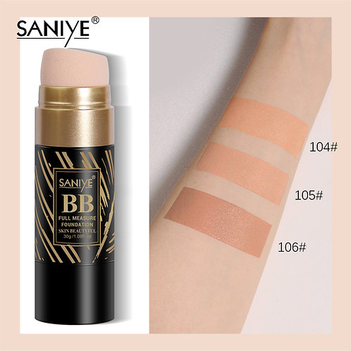 Maquillaje líquido r1196 con esponja incluida(12 pzas)