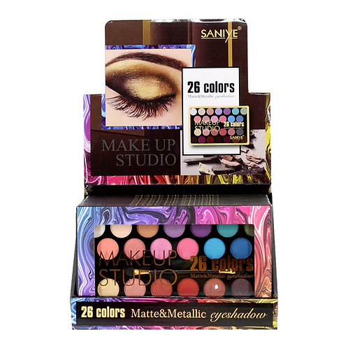 Paleta de Sombras  E263 (caja con 12 paletas)