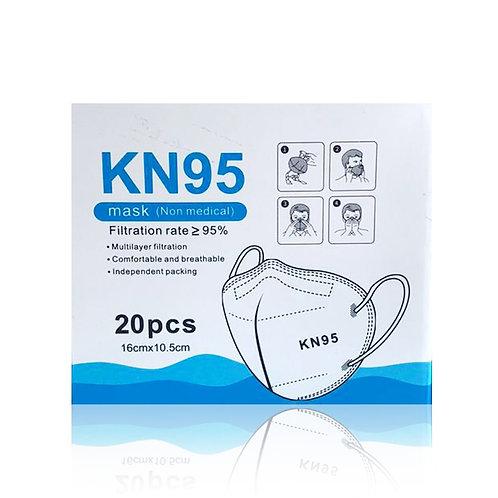 Cubrebocas KN95 (20 piezas)