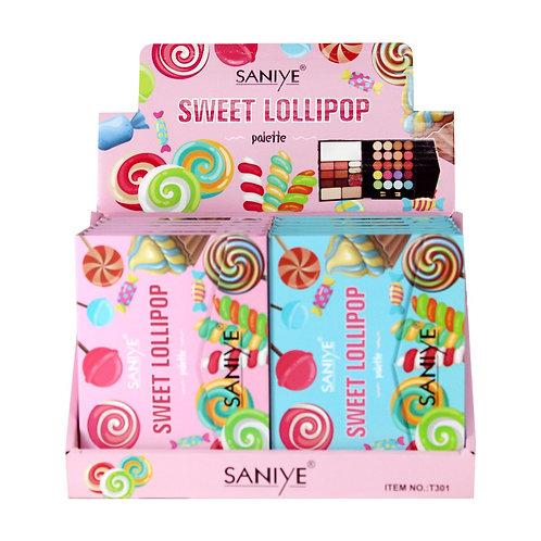 Estuche de sombras t301 Sweet Lollipop (12 piezas)