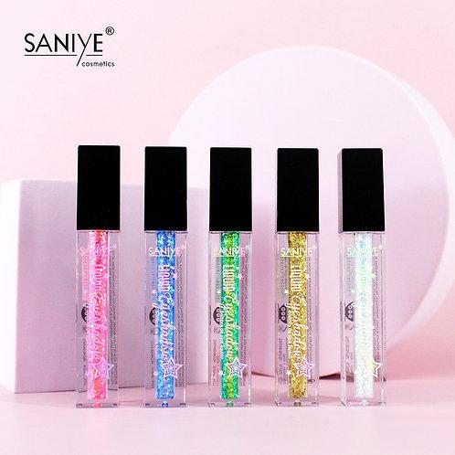 Sombra líquida glitter SANIYE R9007(24 pzas)