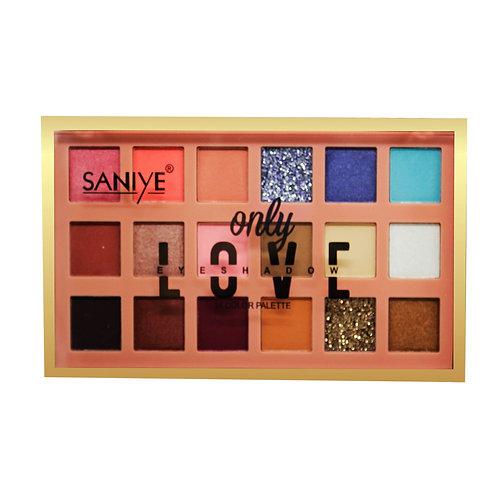 Paleta de sombras ONLY LOVE SANIYE E1815 (12 piezas)