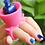 Thumbnail: Soporte para uñas b1148 ( 12 pzas)