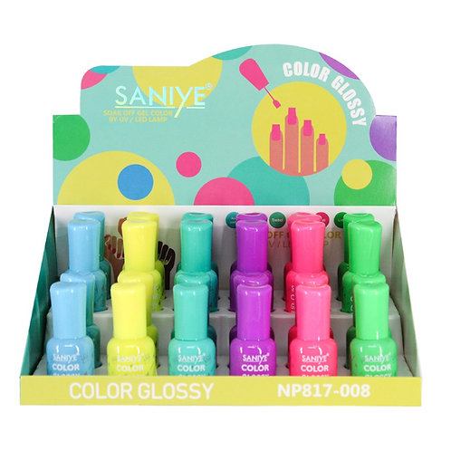 Esmalte para uñas Np817-008 Ultra glossy (24 piezas)