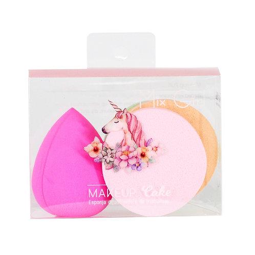 Set de esponjas de maquillaje B1368 (12 pzas)