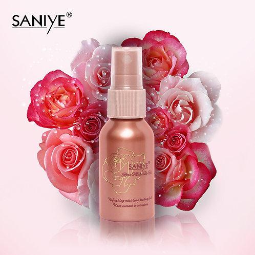 Fijador De Maquillaje R1166 con agua de rosas (12 piezas)