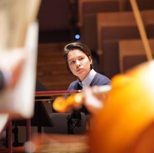 Probe in der Berliner Philharmonie
