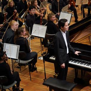 Tschaikowsky, Klavierkonzert Nr.1, Ron Maxim Huang, Orchester des Musikgymnasiums Carl Philipp Emanual Bach/ Samuel Lee Konzertsaal der Universität der Künste Berlin