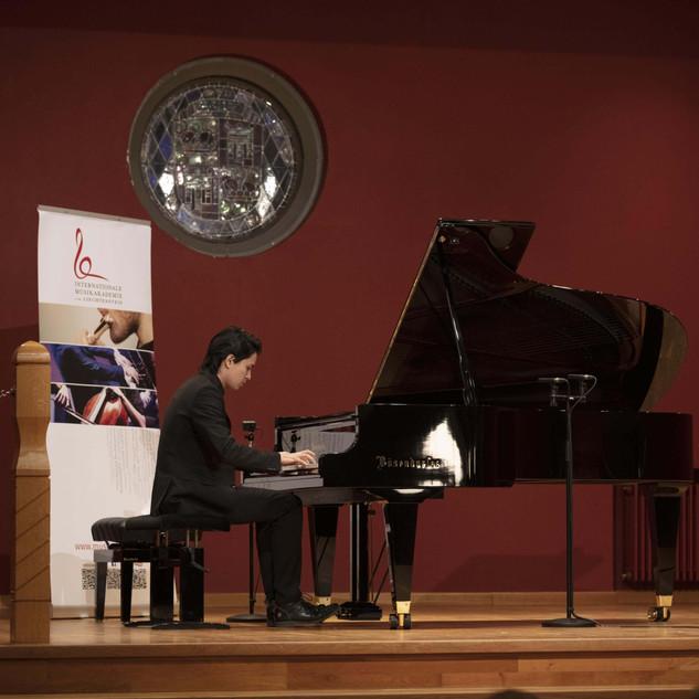 Ron Maxim Huang, Residenzkonzert, Rathaussaal Vaduz, Liechtenstein, 25 Nov. 2020